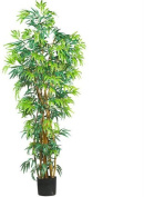Nearly Natural 5188 6 ft. Fancy Style Bamboo Silk Tree