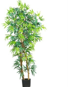 Nearly Natural 5187 5 ft. Fancy Style Bamboo Silk Tree