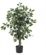 Nearly Natural 5298 3 ft. Ficus Silk Tree