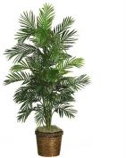 1.4m Areca Palm Silk Tree with Basket