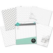 Colour Magic Resist Paper Pack 30cm x 30cm 12/Pkg