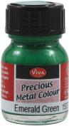 Viva Decor 25ml Paint, Emerald Green