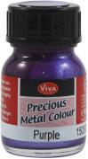Viva Decor VVPMC-3500 Viva Decor Precious Metal Color 25ml-Pkg-Purple