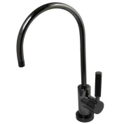 Water Onyx Black Nickel Contemporary Water Filtration Faucet