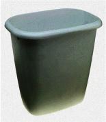 Rubbermaid Home 295800-WHT Vanity Wastebasket