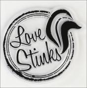 Inkadinkado Valentine Mini Stamps, Love Stinks