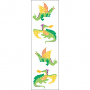 Mrs Grossman MG199-58073 Mrs. Grossmans Stickers-Dragons