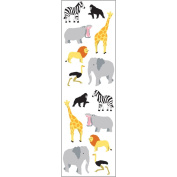 Mrs Grossman MG199-03583 Mrs. Grossmans Stickers-Wild Animals