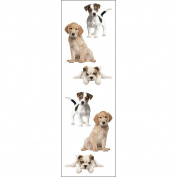 Mrs Grossman MG199-04423 Mrs. Grossmans Stickers-Precious Puppies
