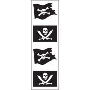 Mrs Grossman MG199-06793 Mrs. Grossmans Stickers-Jolly Roger
