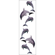 Mrs Grossman MG199-04363 Mrs. Grossmans Stickers-Dolphin Trio