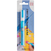 Zig Memory System Two Way Glue Pen, Carded, Squeeze and Roll