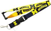 NCAA Michigan Wolverines Reversible Lanyard Holder