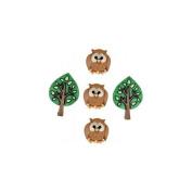Jesse James 485269 Dress It Up Embellishments-Night Owls