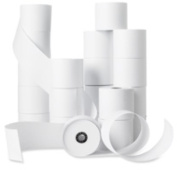 Business Source BSN28625 Machine Roll- Single-Ply- 2-.25in.x150ft.- 100-cT- White