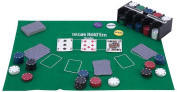 Maxam 208pc Casino Style Texas Hold 'em Poker Set