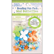 Beading Fun Packs-Mod Butterfly-Assorted Colours