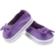 Springfield Collection Slip-On Shoes-Purple