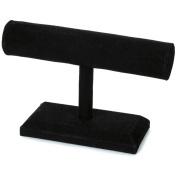 Jewellery Stand 18cm x 15cm X2.190cm 1/Pkg-Black Velvet