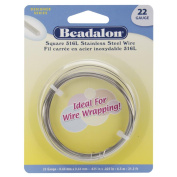Stainless Steel Wrapping Wire-Square,22 Gauge,6.5 Metres/Pkg