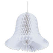 2.7m Honeycomb Bells - 2-Pack, White