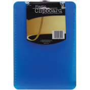 Plastic Clipboard 23cm x 32cm X.13cm -Assorted Colours