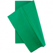 Tissue Wrap 50cm X 70cm 10/Pkg- Emerald Green
