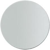 Round Glass Mirror 23cm - 1 Supplied