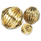 Blue Moon Value Pack Metal Beads-Round Antique Gold-30/Pkg Assorted