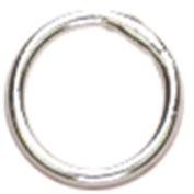 Cousin Sterling Elegance Genuine 925 Sterling Silver Beads & Findings, 4mm Closed Jump Ring, 25/pkg