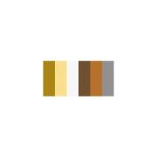 Quilling Paper Mixed Colours .320cm 60/Pkg-Metallics