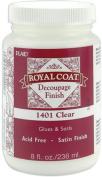 Royal Coat Satin Decoupage Finish - Clear-8 Ounce