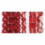 Blue Moon Beads BSSTGL6-17835 Blue Moon Beadshop 3 Glass Bead Strings Case of- 6