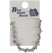 Blue Moon Metal Spacer Beads-Silver Dragonfly 18/Pkg