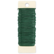 Paddle Wire 24 Gauge 34m-Green