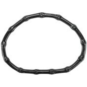 Sunbelt Fasteners Plastic Bamboo, Look Purse Handle 13cm x 15cm Half Circle, Black