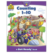Preschool Workbooks 32 Pages-Counting 1-10