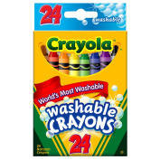 . Washable Crayons-24/Pkg
