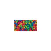 Pony Beads 6x9mm 720/Pkg-Neon Multicolor