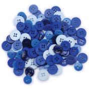 Blumenthal Lansing 5500BB-405 Favorite Findings Basic Buttons Assorted Sizes 130/Pkg