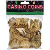 Amscan Casino Coins, 144/pkg,