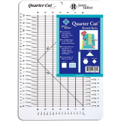 Quarter Cut Slotted Ruler-28cm - 0.6cm x 41cm