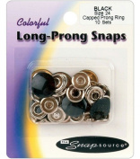 Snap Source Tack Buttons Size 27 16mm 10/Pkg-Antique Silver