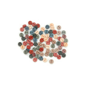 Dress It Up Embellishments-Tiny Country Buttons