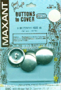 Cover Button Refill-Size 45 2.9cm 3/Pkg