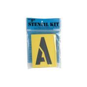 Decorcal Reusable Stencil Lettering Kit, 13cm