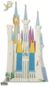 Disney Vacation Dimensional Stickers, Disney Castle