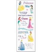 Sticko DPHRP01 Disney Princess Stickers-Phrase