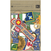 Boy Scouts Cardstock Die-Cuts for Scrapbooking