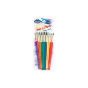 Royal Brush 270924 Arts& Crafts Brush Set-12-Pkg
